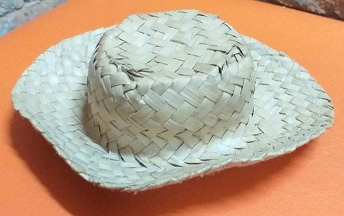 Chapéu de Palha Mini