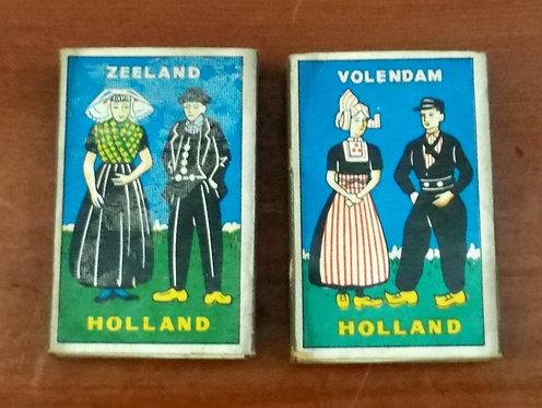 Caixa de Fósforos Cidades da Holanda
