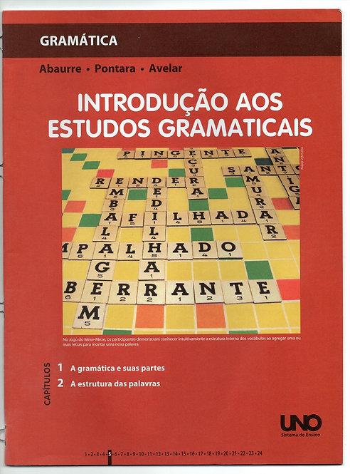 Apostila Uno - Gramática - Introdução aos Estudos Gramaticais