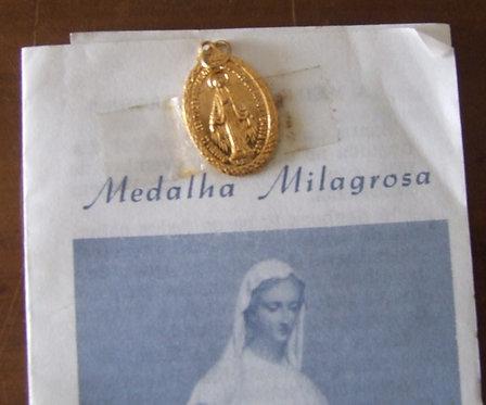 Medalha Milagrosa - Nossa Senhora das Graças