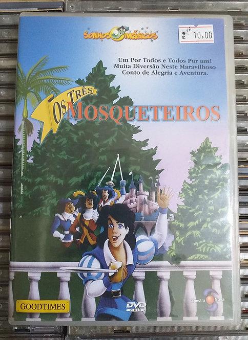 DVD Sonhos Mágicos - Os 3 Mosqueteiros