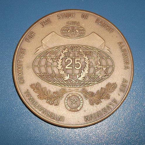 Medalha do 25º ICSOBA