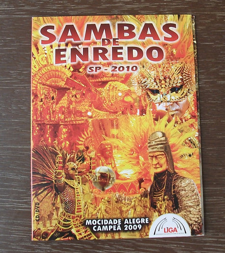 CD e DVD Sambas de Enredo SP 2010