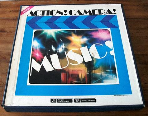 Box Action! Camera! Music!