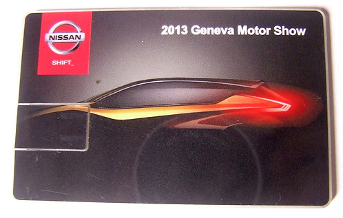 Pen Drive Cartão Nissan - Salão Internacional do Automóvel de Genebra 2013