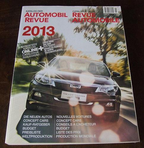 Automobil Revue 2013