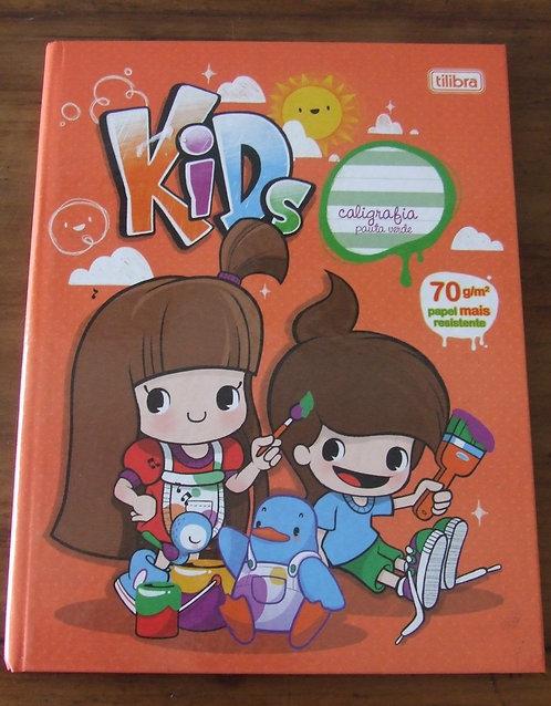Caderno de Caligrafia Tilibra Kids Pauta Verde
