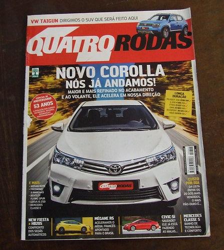 Revista Quatro Rodas Agosto de 2013
