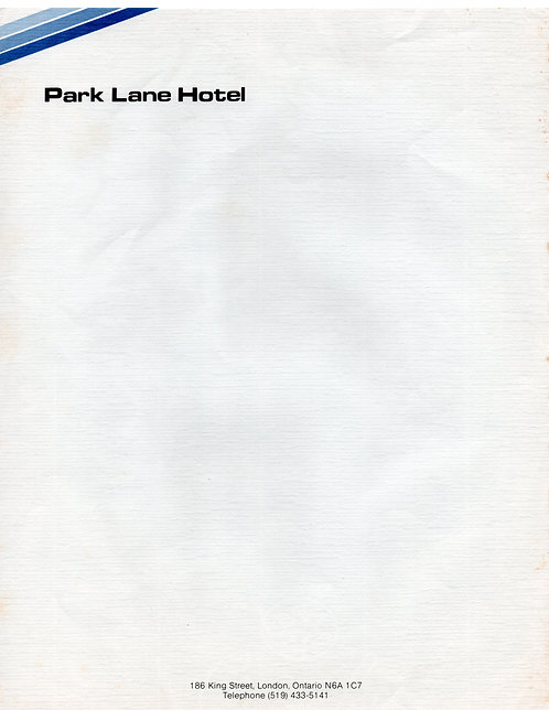 Papel de Carta Park Lane Hotel