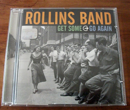 CD Rollins Band - Get Some Go Again