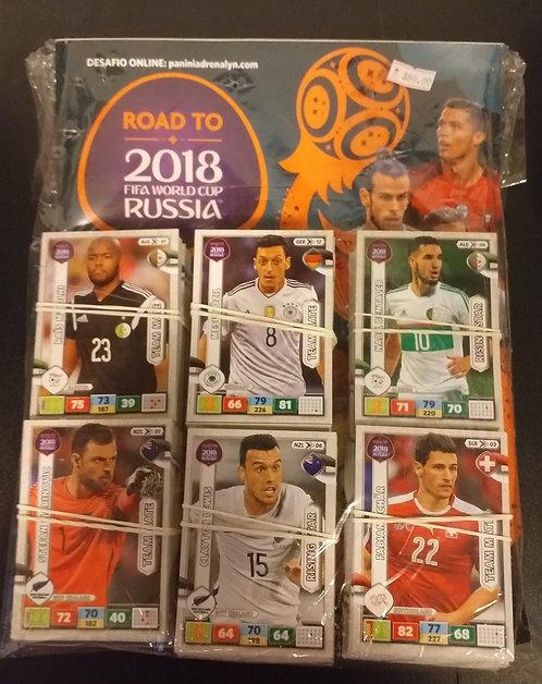 Livro Ilustrado Oficial Road to 2018 Fifa World Cup Russia