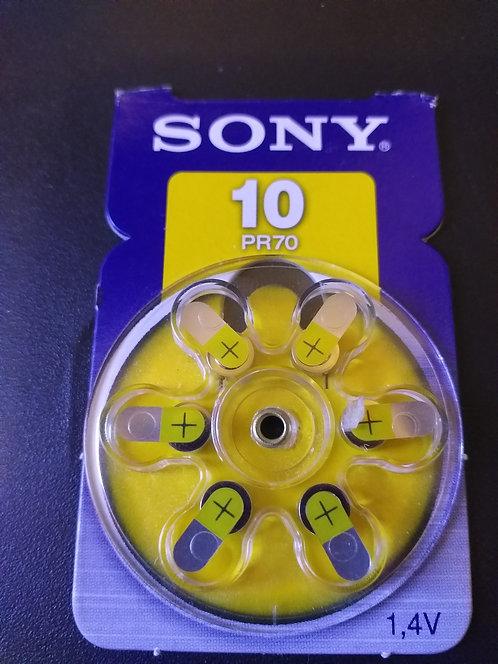 Bateria  Sony 10 PR70 (Cartela)