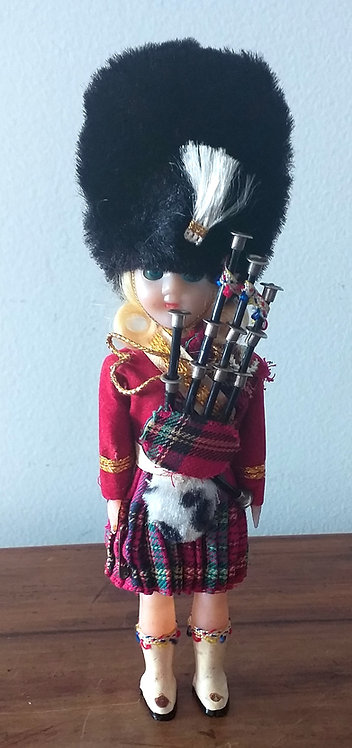 Boneco Gaiteiro Escocês