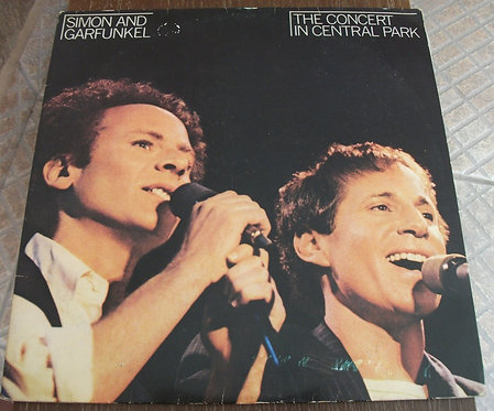 LP Simon & Garfunkel - Central Park (duplo)