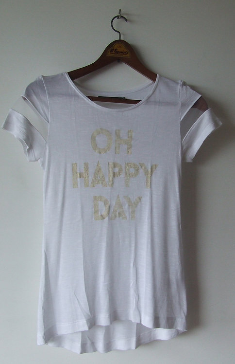Camiseta Luigi Bertolli Oh Happy Day