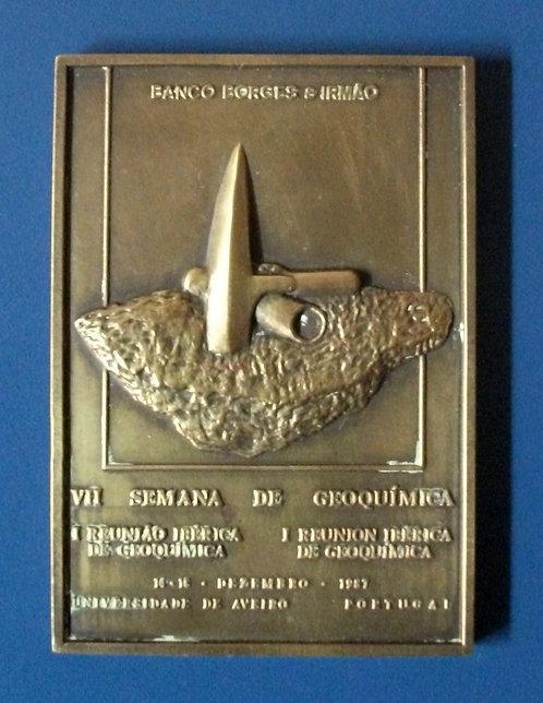 Medalha da VII Semana de Geoquímica