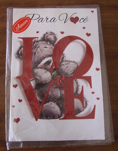 Cartão Dallec Love Para Você Love