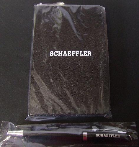 Caneta e Caderneta Schaeffler