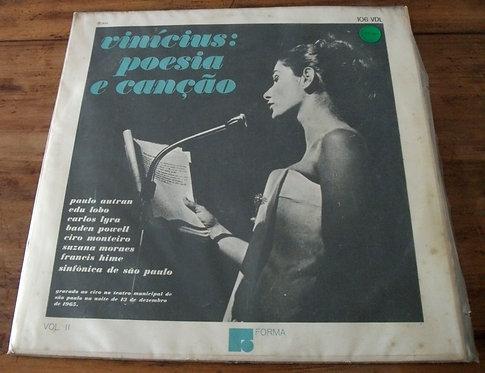 LP Vinícius: Poesia e Canção