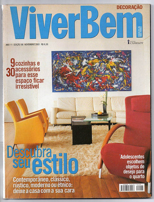 Revista Viver Bem Decoração nº 98