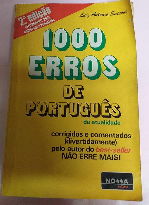 1000 Erros de Português da Atualidade