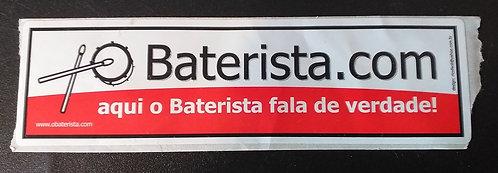 Adesivo O Baterista.com