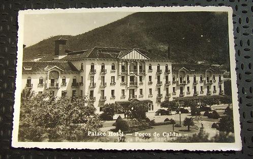 Foto Antiga - Palace Hotel Poços de Caldas