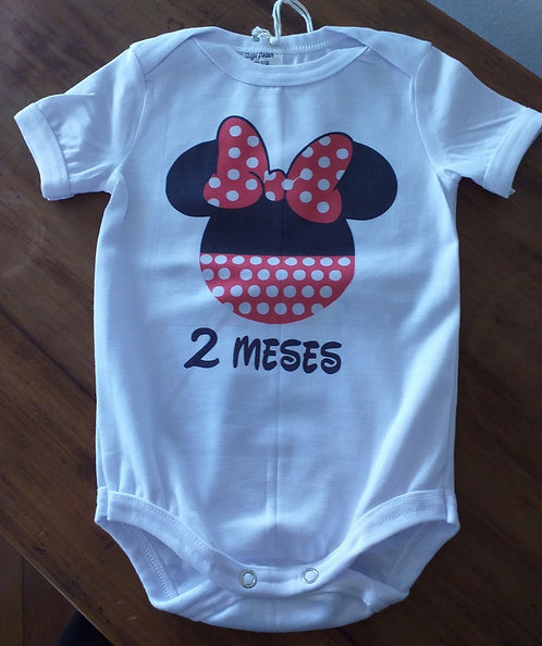Body Gudah Minnie 2 Meses