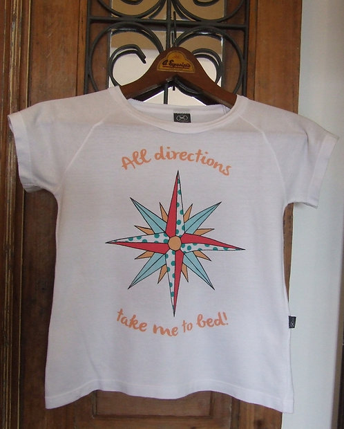 Camiseta Hering Kids All Directions