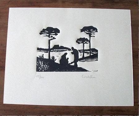 Xilogravura de Antonio Costella