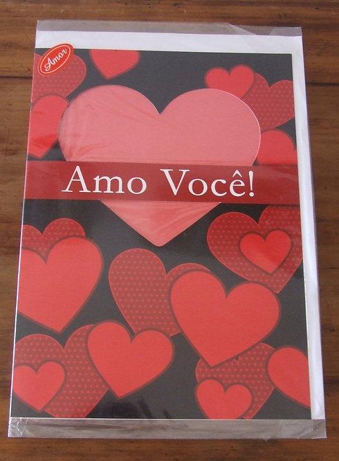 Cartão Dallec Gigante Amo Você