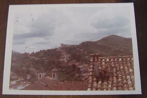 Foto Antiga - Telhados de Ouro Preto MG