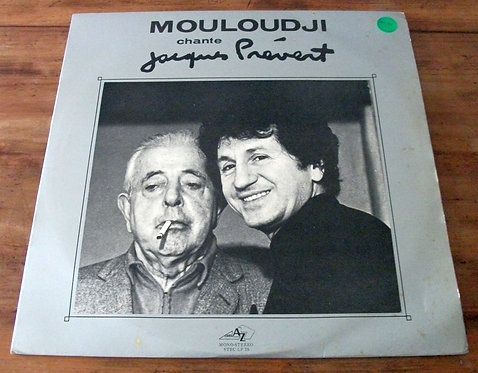LP Mouloudji Chante Jacques Prévert