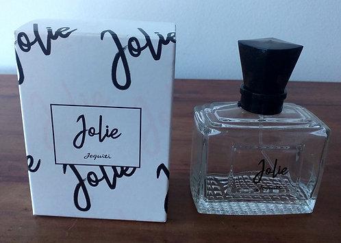 Caixa e Vidro de Perfume Jolie (Vazios)