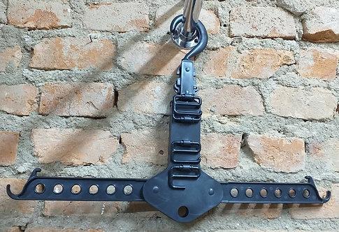 Cabide Organizador Retrátil Para Cintos e Gravatas