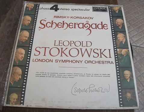 LP Leopold Stokowski - Scheherazade