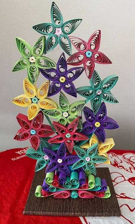 Flores em Filigrana