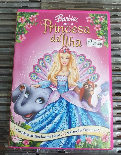 DVD Barbie em A Princesa da Ilha