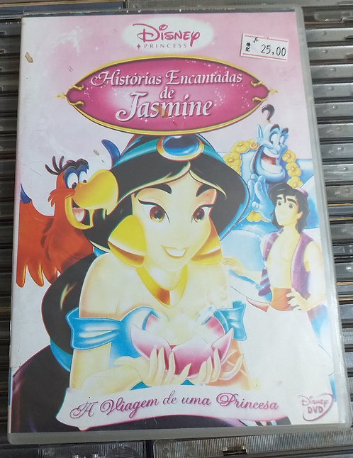 DVD Histórias Encantadas de Jasmine - A Viagem de uma Princesa
