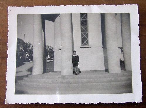 Foto Antiga - Menino no Trianon 1941