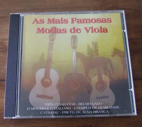 CD As Mais Famosas Modas de Viola