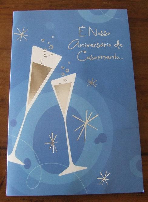 Cartão Aniversário de Casamento