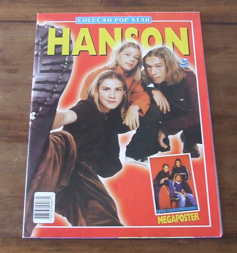 Revista Poster Coleção Pop Star Hanson