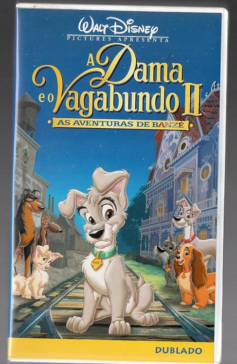 VHS A Dama e o Vagabundo II - As Aventuras de Banzé