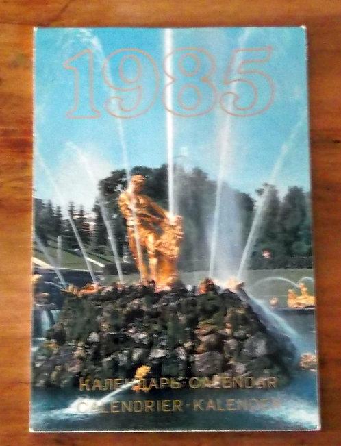 Calendário Russo 1985