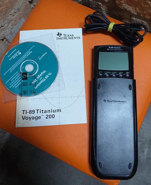 Calculadora Gráfica TI-89 Titanium