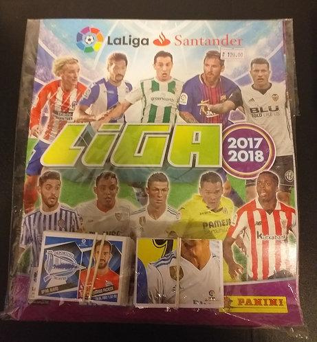 Livro Ilustrado Oficial da Liga Santander 2017/2018