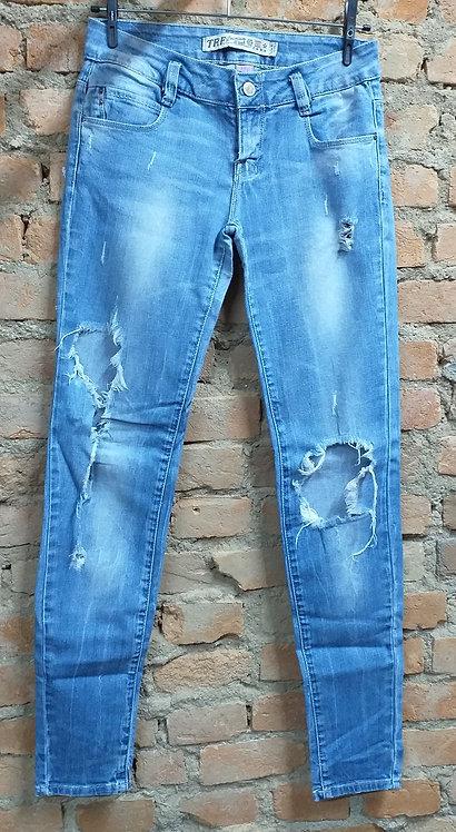 Calça Jeans Zara TRF Premium Wash