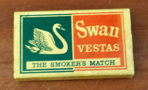 Caixa de Fósforos Swan Vestas