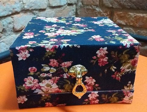 Caixa Porta Joia Floral